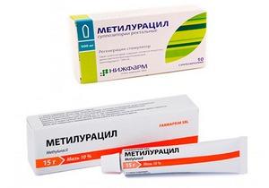 Метилурацил форма выпуска