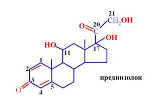 Преднизолон формула