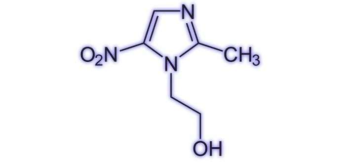 Метронидазол вещество