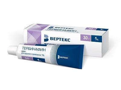 Тербинафин крем от чего помогает