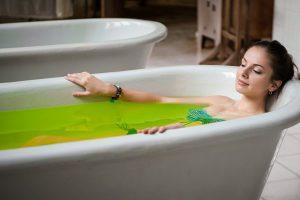 Народные средства от крапивницы ванны