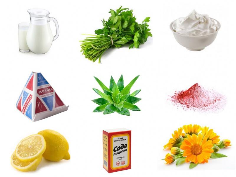 Народные средства от прыщей рецепты