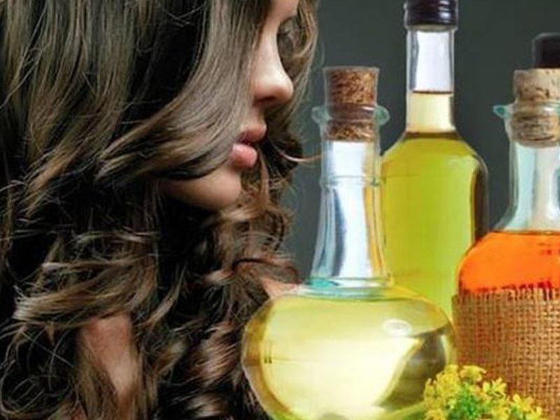 Народные средства от выпадения волос масла