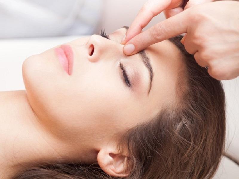 Лечение гайморита массаж
