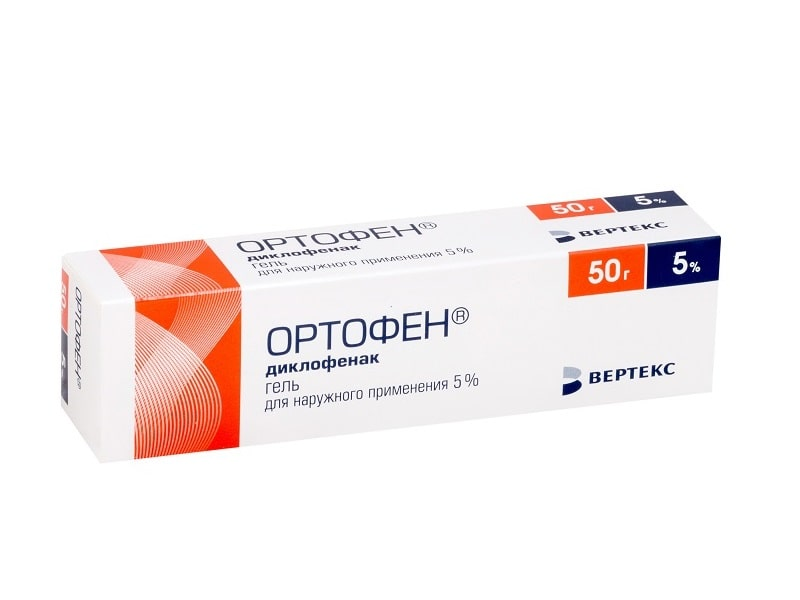 Ортофен гель