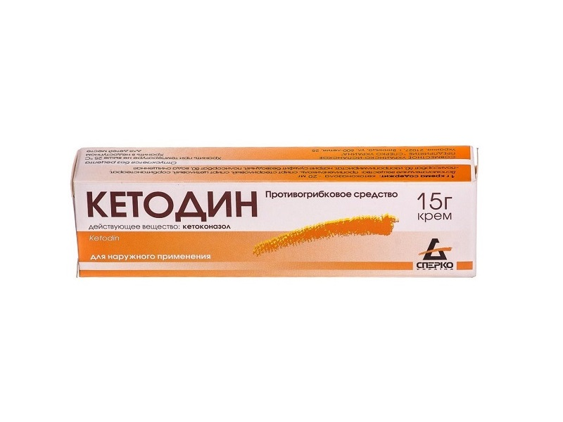 Кетодин крем
