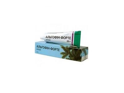 Альгофин мазь