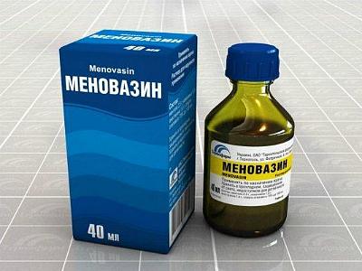 Меновазин раствор что это