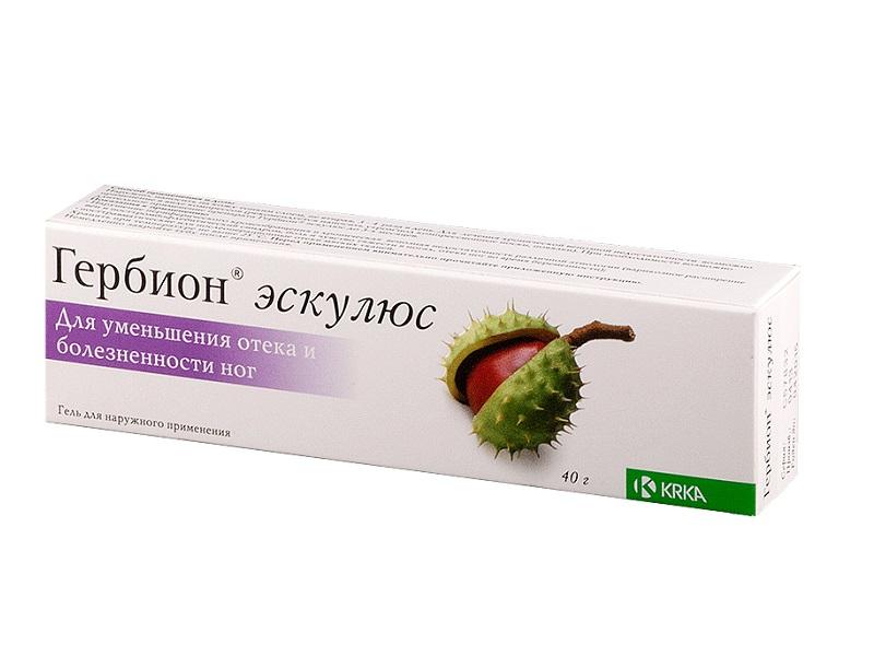 Гербион эскулюс гель