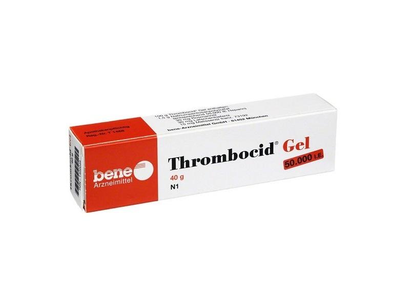 Тромбоцид гель