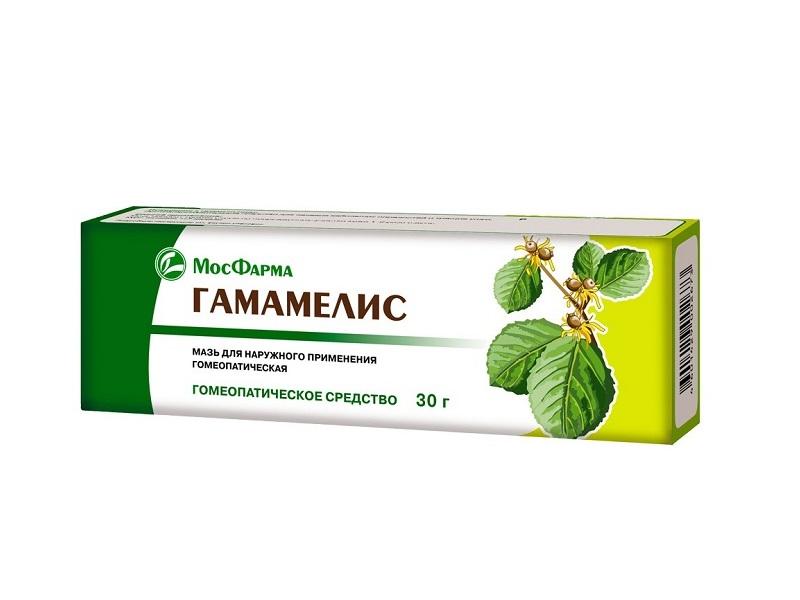 Гамамелис мазь