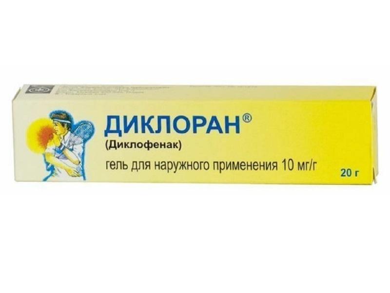 Диклоран гель