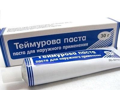 Теймурова паста использование
