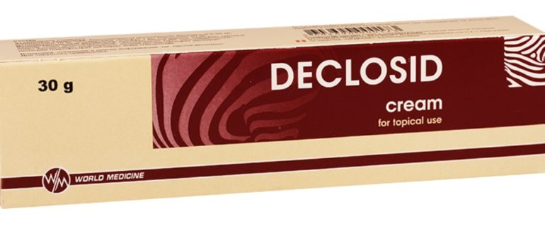 Деклосид крем
