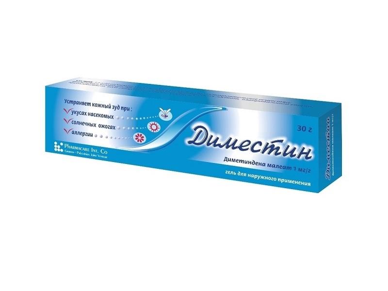 Диместин гель