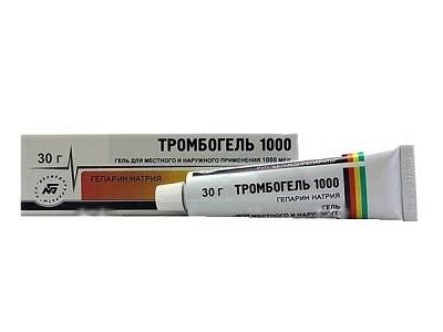 Тромбогель 1000 что за медикамент