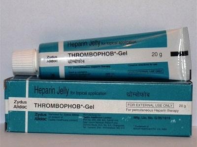 Тромбофоб гель производители