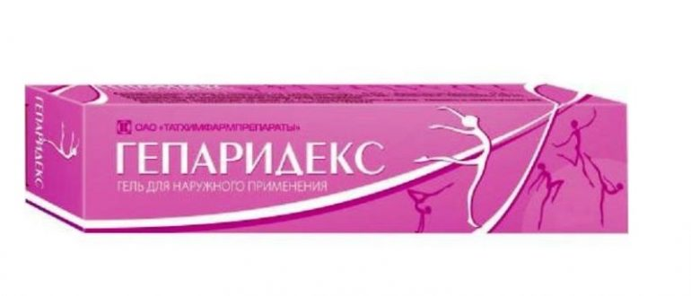 Гепаридекс гель