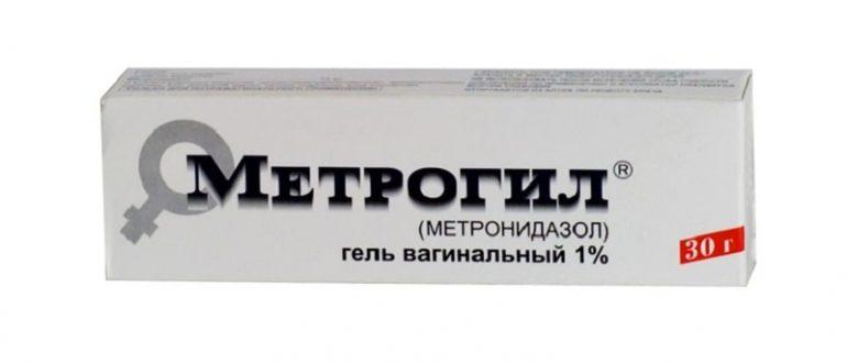 Метрогил вагинальный гель
