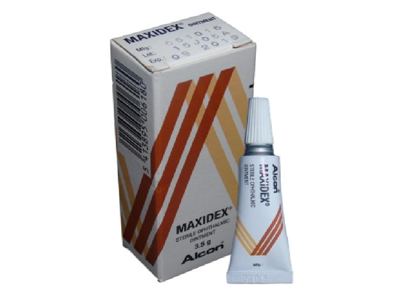 Максидекс мазь