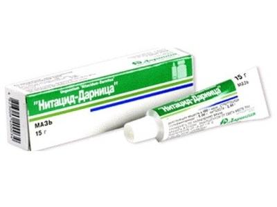 Нитацид мазь фармакодинамика