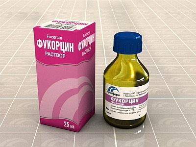 Фукорцин раствор фармакодинамика