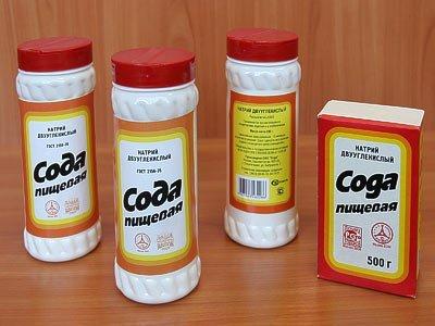 Народные средства от баланита сода