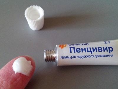 Использование Фенистила Пенцивир крема